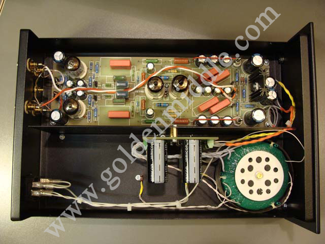 Golden Middle: DIY Hi-Fi tube preamp-phono stage