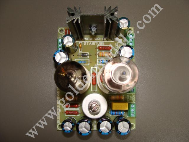 набор КИТ для самостоятельной сборки лампового источника питания усилителя.